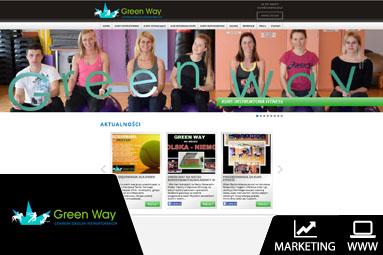 strona internetowa firmowa green way